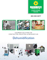 Construction, Industrial & Emergency Dehumidification Brochure