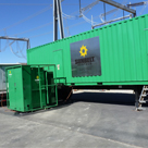 Containerized generator and transformer provide ideal solutions for temporary, standby and emergency power.