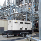 Keep utilty power reliable with backup generators.